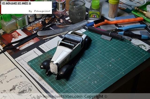 Cadillac cabriolet V16 Fleetwood. 1931  Jo-Han  1/24 016_8019