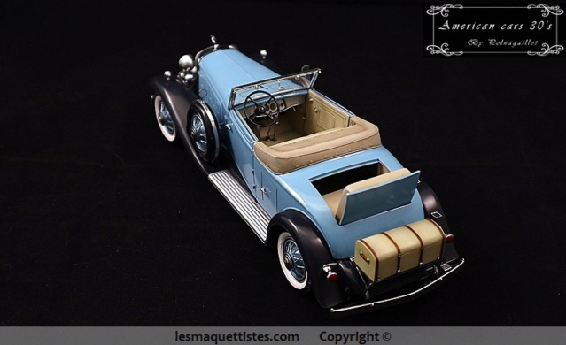 Cadillac cabriolet V16 Fleetwood. 1931  Jo-Han  1/24 - Page 11 016_8028