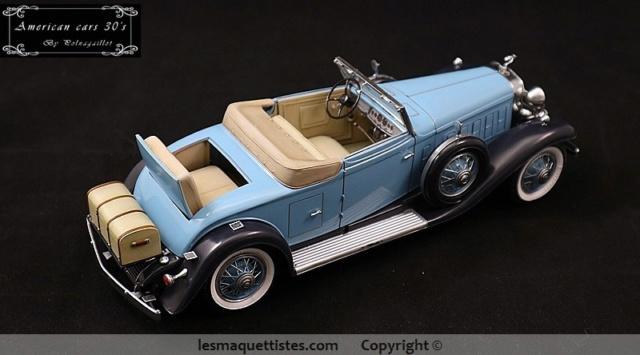 Cadillac cabriolet V16 Fleetwood. 1931  Jo-Han  1/24 - Page 11 017_8020