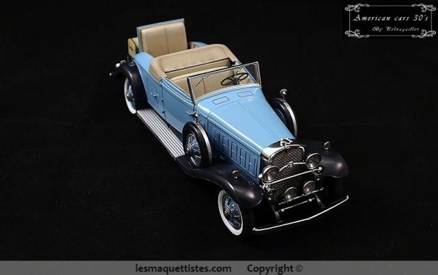 Cadillac cabriolet V16 Fleetwood. 1931  Jo-Han  1/24 - Page 11 018_8019