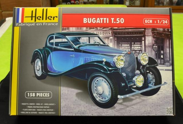 Ouvre boite Heller : Bugatti T50 au 1/24 01910