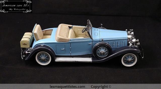 Cadillac cabriolet V16 Fleetwood. 1931  Jo-Han  1/24 - Page 11 019_8022
