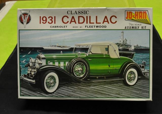 Ouvre Boite JO-HAN    Série Classic : Cadillac V-16 cabriolet 1931  02010
