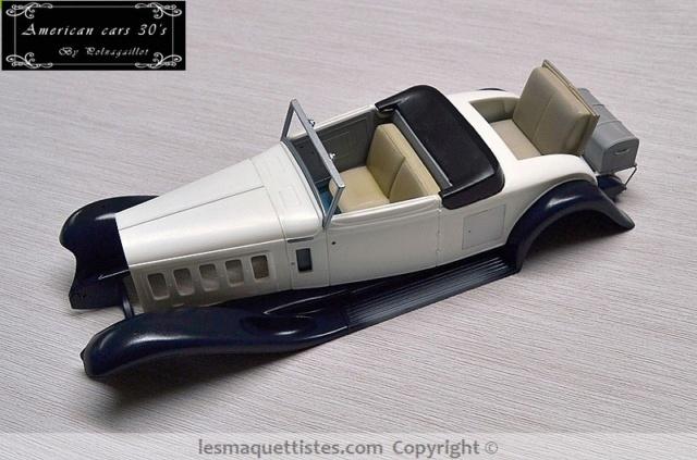 Cadillac cabriolet V16 Fleetwood. 1931  Jo-Han  1/24 - Page 4 020_8014