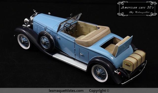 Cadillac cabriolet V16 Fleetwood. 1931  Jo-Han  1/24 - Page 11 020_8020
