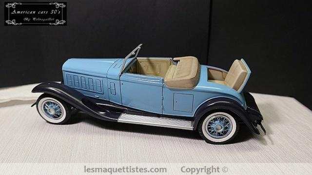 Cadillac cabriolet V16 Fleetwood. 1931  Jo-Han  1/24 - Page 7 025_8019