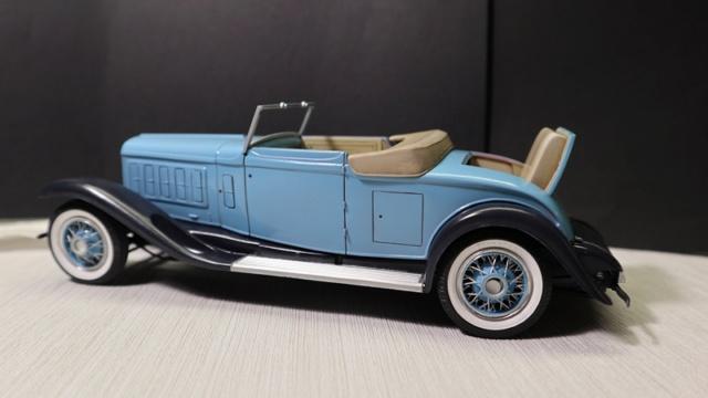 Cadillac cabriolet V16 Fleetwood. 1931  Jo-Han  1/24 - Page 7 026_8022