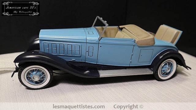 Cadillac cabriolet V16 Fleetwood. 1931  Jo-Han  1/24 - Page 7 027_8014