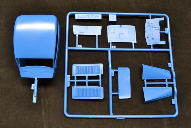 Ouvre boite Heller : Bugatti T50 au 1/24 03210