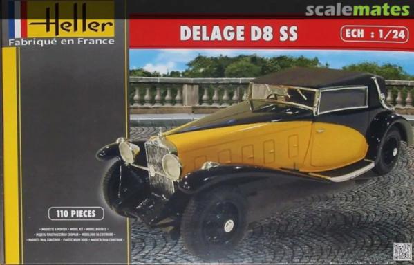 Delage D8-SS Heller 1/24 10119310