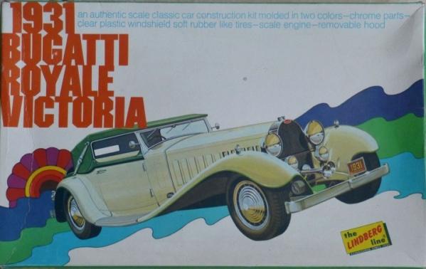 Fil rouge 2021 * Bugatti Royale Victoria 1931 ( Lindberg 1/24 ) 10197110