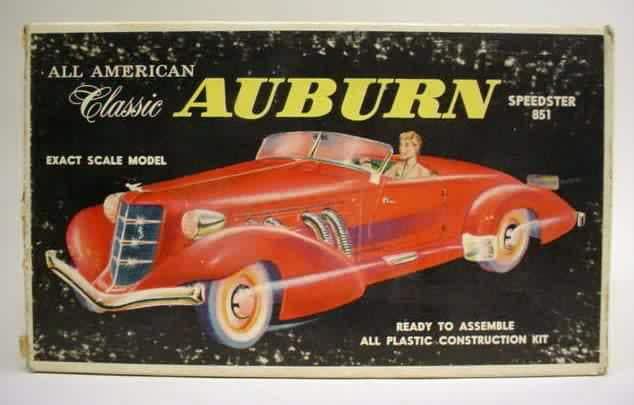 Auburn Speedster 851 de 1935........ Lindberg  1/25 11621410