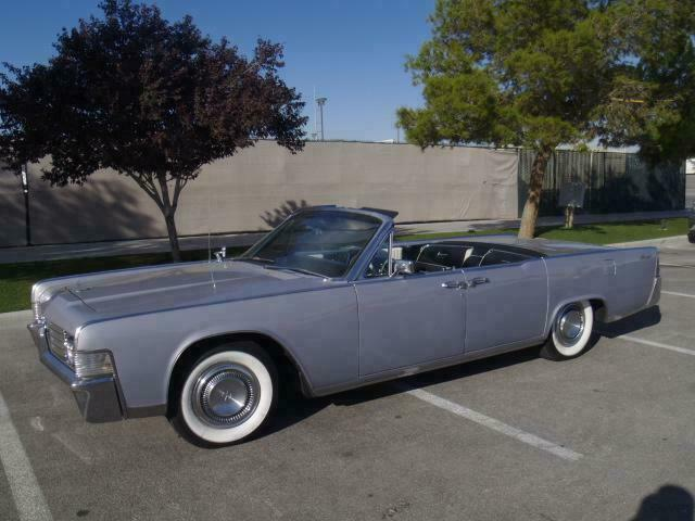 Lincoln Continental 65' convertible 11752110