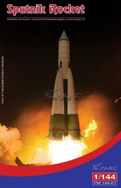 Lanceur R7 A1 porteur de Vostok 1 de chez AIRFIX au 1/144eme 144-0110