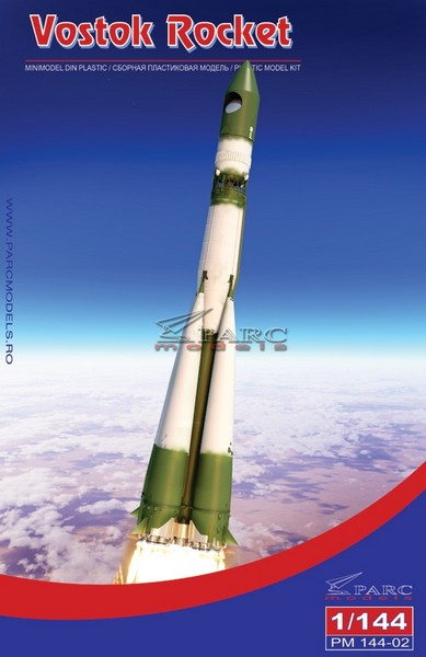 Lanceur R7 A1 porteur de Vostok 1 de chez AIRFIX au 1/144eme 144-0210