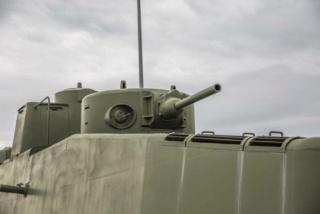 Motorized Armored Railcar MBV-2 au 1/72 de chez Military UM technics 15386610