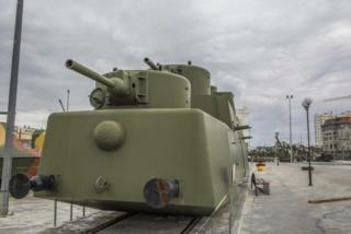 Motorized Armored Railcar MBV-2 au 1/72 de chez Military UM technics 15386611