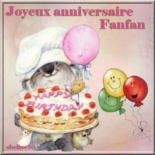 Bon anniversaire Fanfan !!!! 25640110
