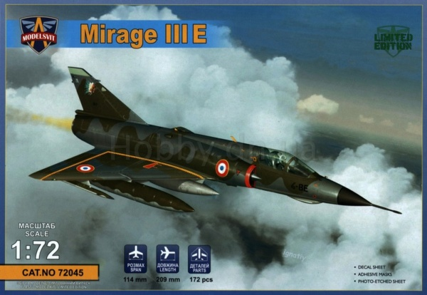 MIRAGE III E/R/B HELLER au 1/72 - Page 3 7204510