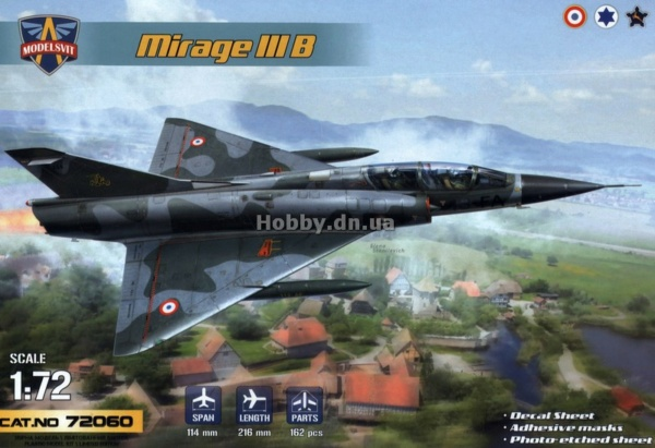 MIRAGE III E/R/B HELLER au 1/72 - Page 3 7206010