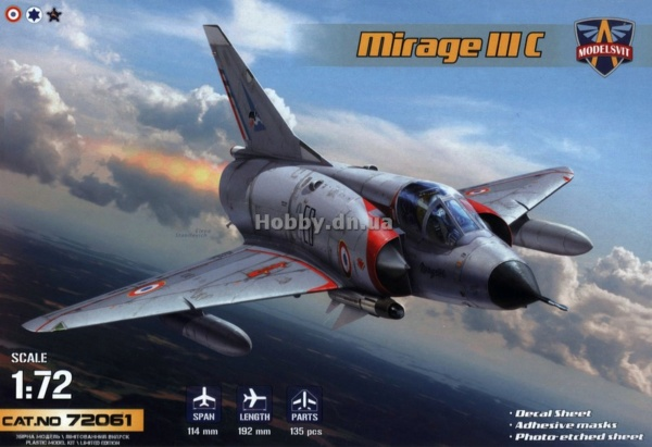 MIRAGE III E/R/B HELLER au 1/72 - Page 3 7206110