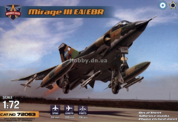 MIRAGE III E/R/B HELLER au 1/72 - Page 3 7206310