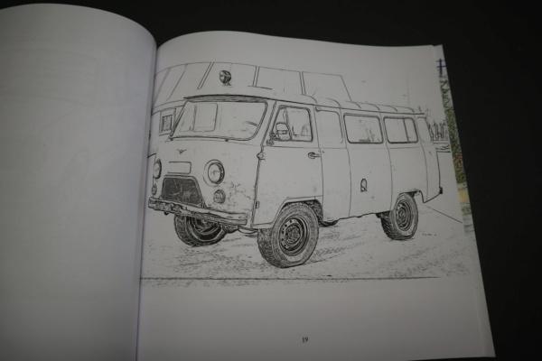 Carnet de dessins......Voitures russes Img_3158