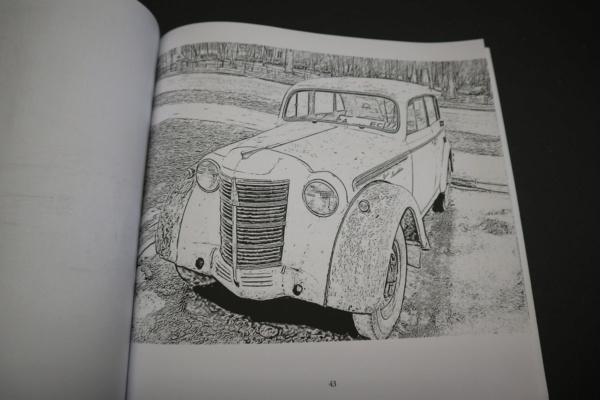 Carnet de dessins......Voitures russes Img_3160