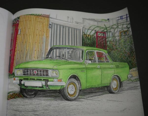 Carnet de dessins......Voitures russes Img_3161