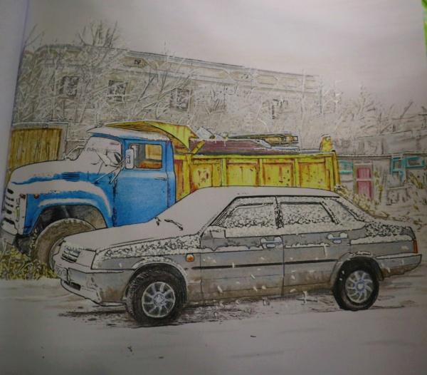 Carnet de dessins......Voitures russes Img_3183