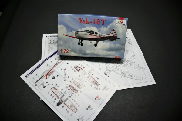 From the Box - Yak 18 T Amodel 1/72 Img_3336
