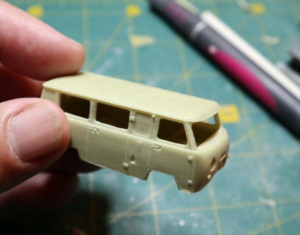 UAZ 452 Ambulance. 1/72 Balaton Modell. Img_4218