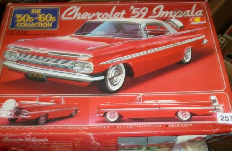 Défi montage maquette : AMT réf. 1135 1960 Ford Thunderbird 1/32 *** Terminé en pg 4 Imp10