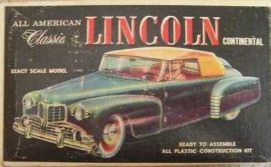 Comme Manu : défi montage: Lincoln Continental 48' de chez Pyro L110