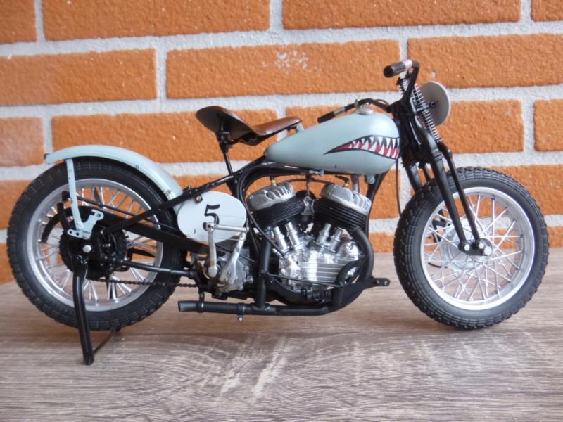 wla 750 1/9 italeri Harley Davidson   P1030710