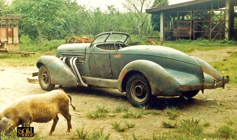 Auburn Speedster 851 de 1935........ Lindberg  1/25 Philip10