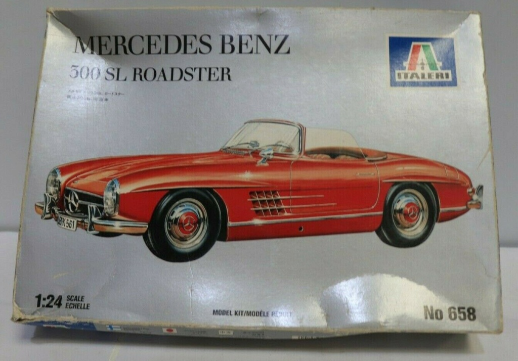 MERCEDES-BENZ 300 SL GULLWING  1/16  ITALERI - Page 3 S-l16018