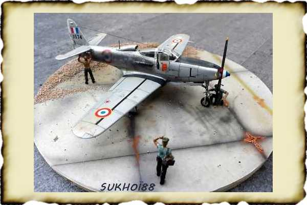 LES MAQUETTISTES , la vitrine des maquettistes Sukhoi13