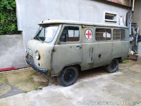 UAZ 452 Ambulance. 1/72 Balaton Modell. Uaz-4510