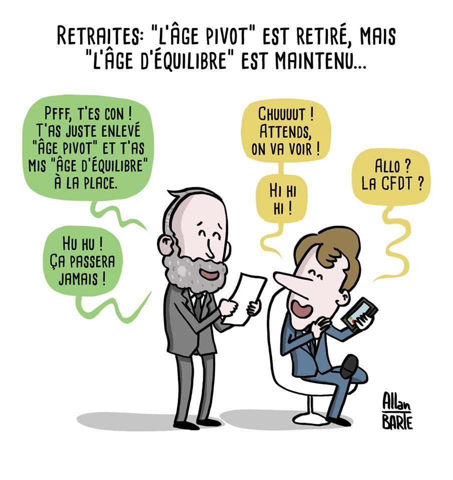 """Le vrai-faux """"retrait"""" de l'âge pivot 83008110"""