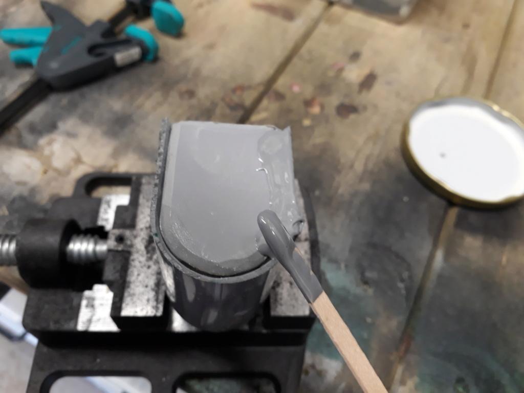 Confection supports modules projection leds G/W au sol sur 1500 Tuto_123