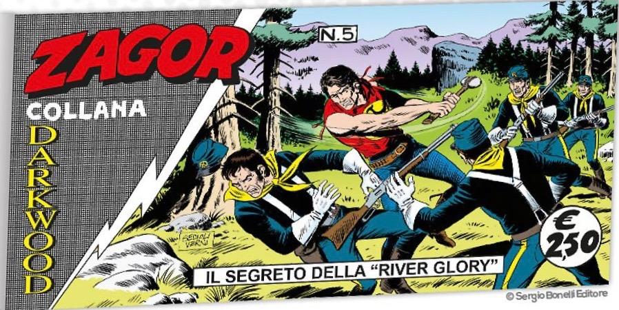 Il battello dei misteri (Zagor a striscia n.1/2/3/4/5/6) 15302010