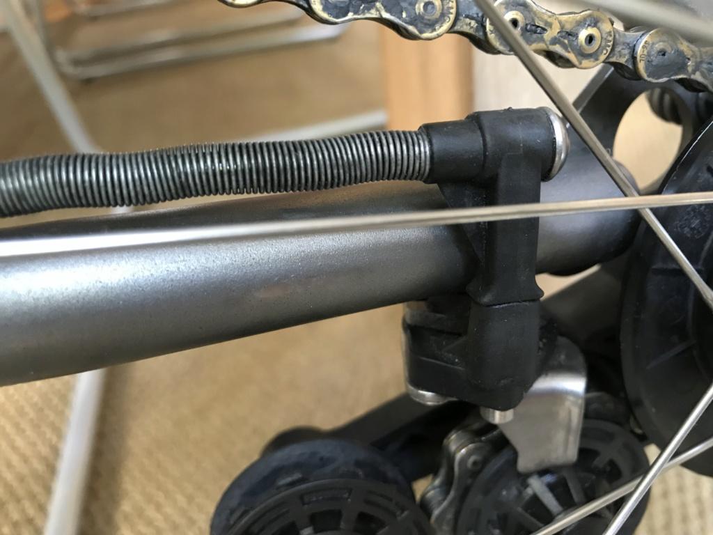 Brompton S2L-X raw lacquer amélioré Brompfication... ( le vélo, la saccoche, les pièces originales) ! (VENDU) Aimg_111