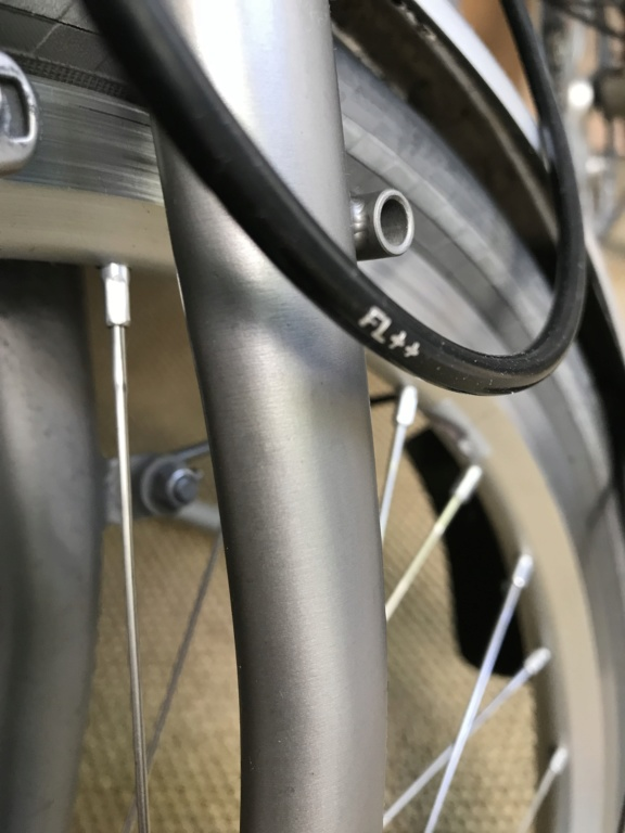 Brompton S2L-X raw lacquer amélioré Brompfication... ( le vélo, la saccoche, les pièces originales) ! (VENDU) Bimg_110