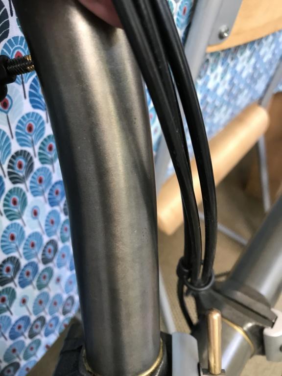 Brompton S2L-X raw lacquer amélioré Brompfication... ( le vélo, la saccoche, les pièces originales) ! (VENDU) Bimg_112
