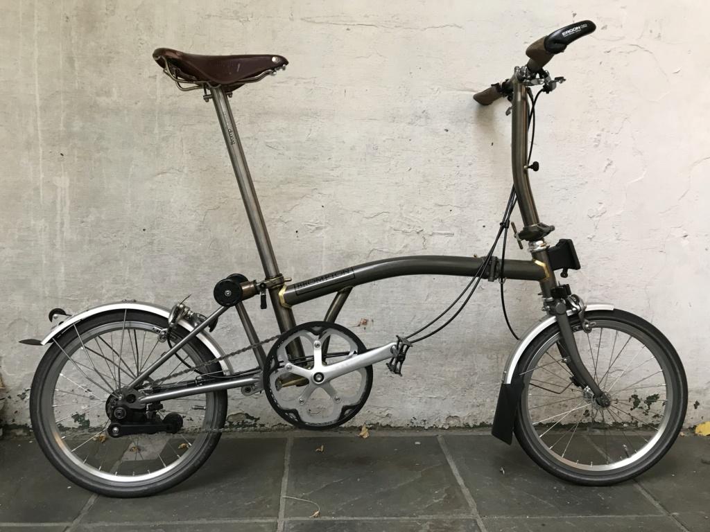 Brompton S2L-X raw lacquer amélioré Brompfication... ( le vélo, la saccoche, les pièces originales) ! (VENDU) Img_1112