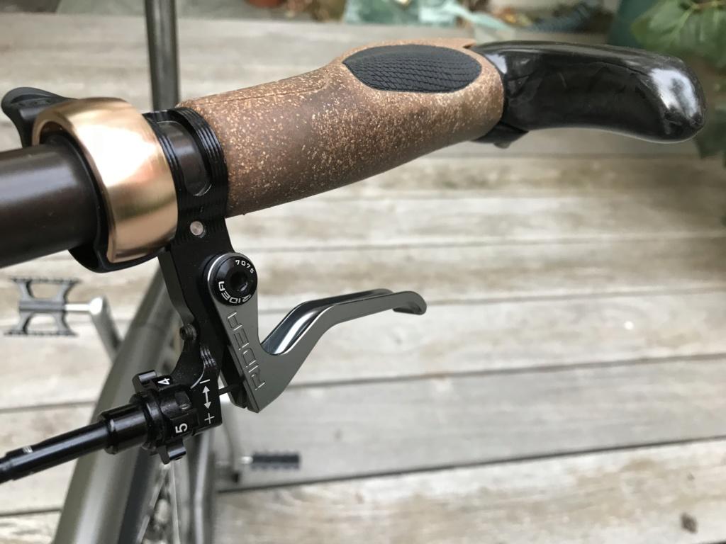 Brompton S2L-X raw lacquer amélioré Brompfication... ( le vélo, la saccoche, les pièces originales) ! (VENDU) Img_1121