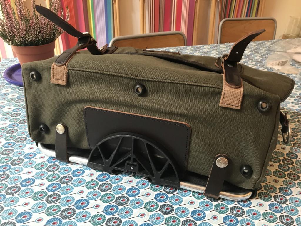 Brompton S2L-X raw lacquer amélioré Brompfication... ( le vélo, la saccoche, les pièces originales) ! (VENDU) Img_1135