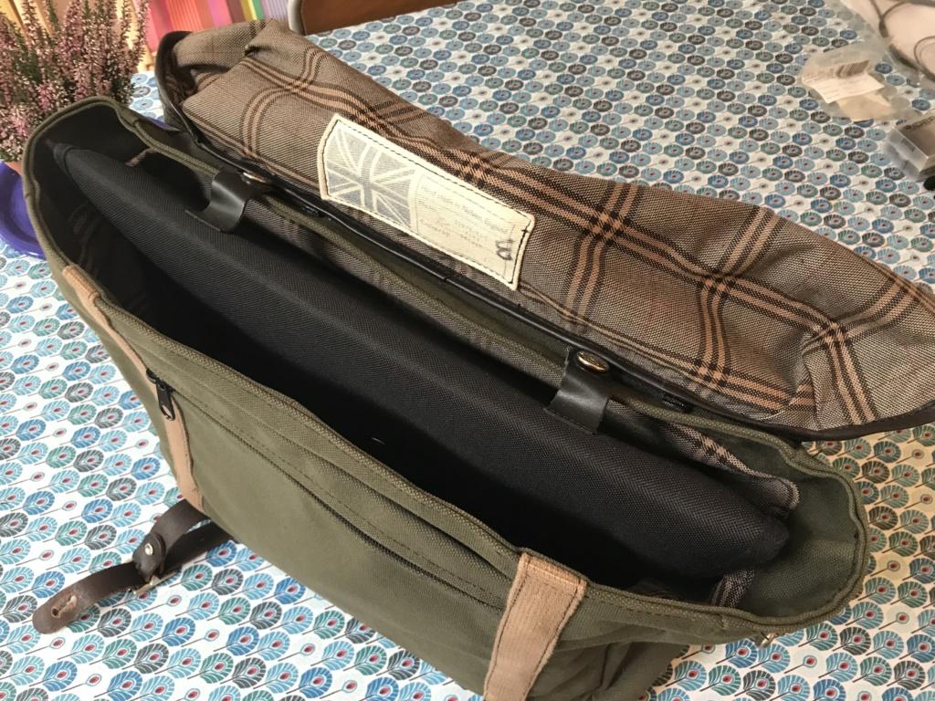 Brompton S2L-X raw lacquer amélioré Brompfication... ( le vélo, la saccoche, les pièces originales) ! (VENDU) Img_1139