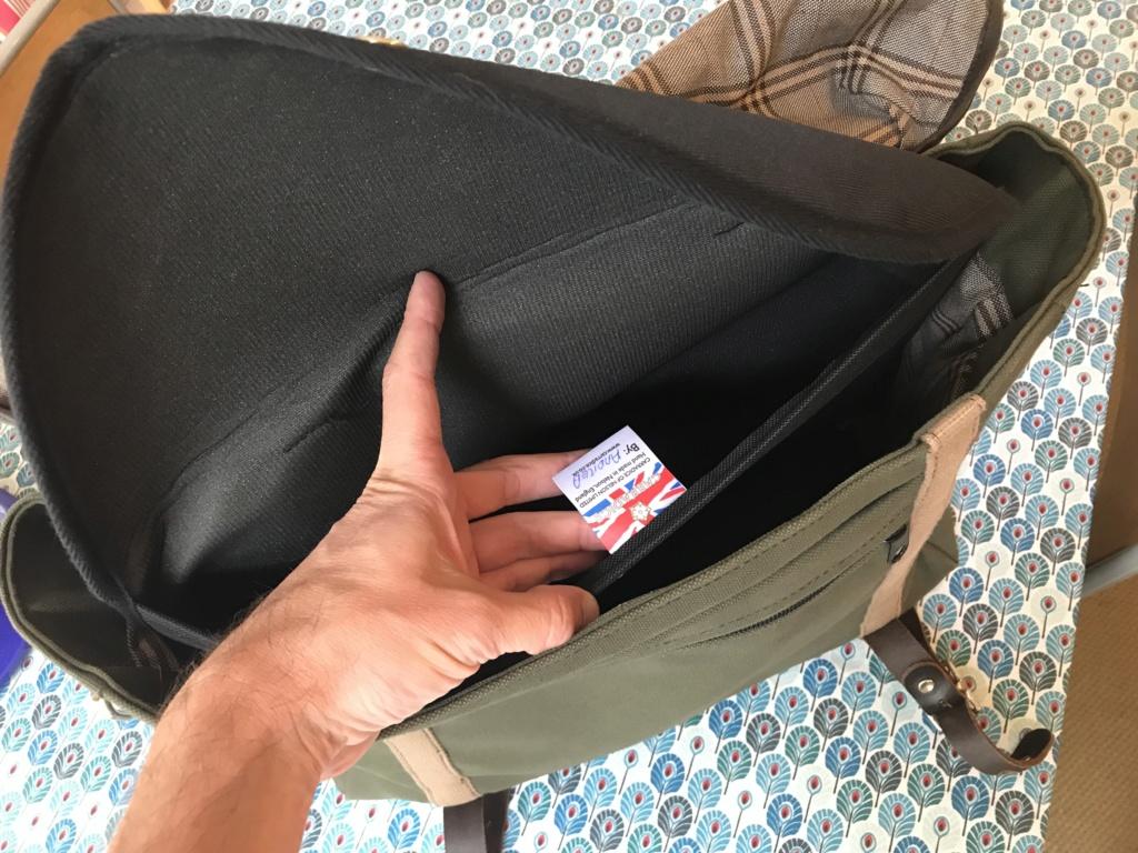 Brompton S2L-X raw lacquer amélioré Brompfication... ( le vélo, la saccoche, les pièces originales) ! (VENDU) Img_1141